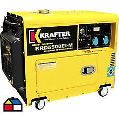 Generador diesel 5 KVA partida electrica