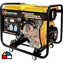 Generador diesel partida electrica 220 V