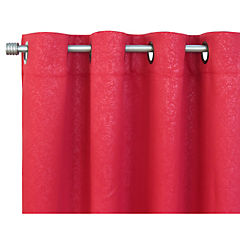 Set de cortinas tela 220x140cm Milán terracota