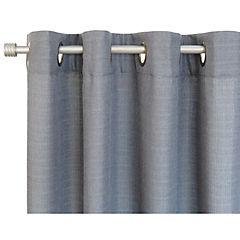 Set de cortinas tela 220x140cm Mónaco gris