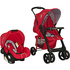 Coche travel system jazz rojo