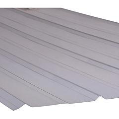 0,7mm x 0,9x3,0m Plancha policarbonato 5V color humo