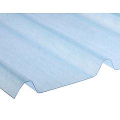 1,6mm x 1,0x1,0m Plancha fibra de vidrio PV4 traslúcida natural