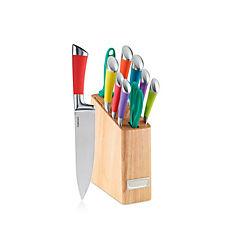 Set de cuchillos colores 11 piezas