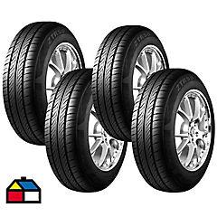 Set 4 Neumáticos 195/70R14