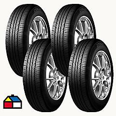 Set 4 Neumáticos 185/60 R14