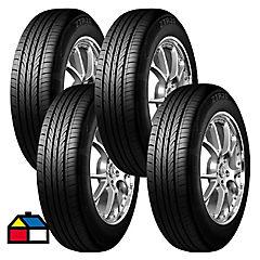 Set 4 Neumáticos 195/55R15