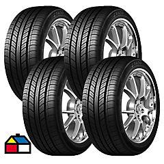 Set 4 Neumáticos 215/55R16