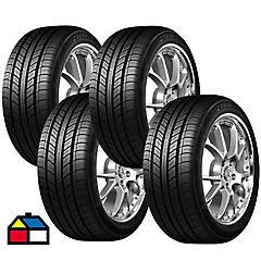 Set 4 Neumáticos 225/55R17