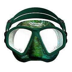 Máscara buceo tonina camu sili verde