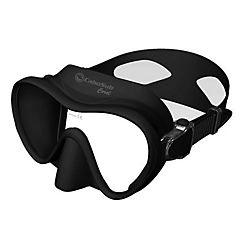 Máscara buceo coral negra