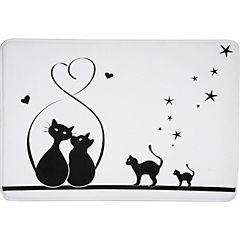 Piso para baño Gatos 50x70 cm