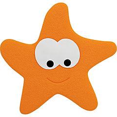 Set de antideslizante para baño 5 piezas Estrella Naranjo