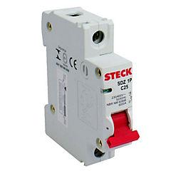 Interruptor automático 1x6 A curva c 230 V 6 KA