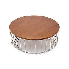 Mesa de centro 80x80x36 cm madera