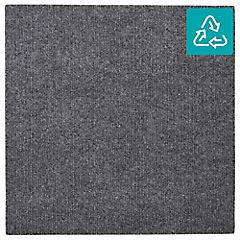 Alfombra 100 % pet palmeta riverside gris oscuro 45x45 cm 3,3 m2