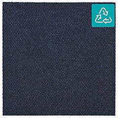 Alfombra 100 % pet palmeta hobnail azul 45x45 cm 3,3 m2