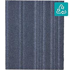 Alfombra 100 % pet palmeta couture azul 61x61 5,6 m2