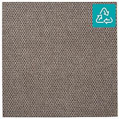 Alfombra 100 % pet palmeta hobnail gris pardo 45x45 cm 3,3 m2