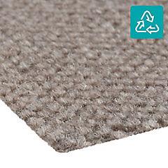 Alfombra 100 % pet en rollo 20 m2 gris pardo H
