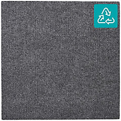 Alfombra 100 % pet en rollo 20 m2 gris pardo R