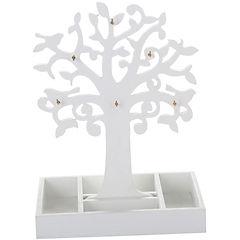 Árbol de la vida de madera color blanco