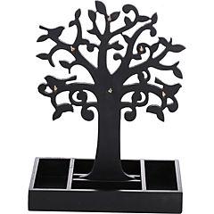 Árbol de la vida de madera color negro
