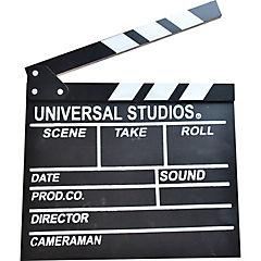 Claqueta de cine 26,5x30 cm madera