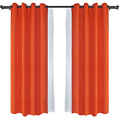 Combo cortina argolla+barras colores