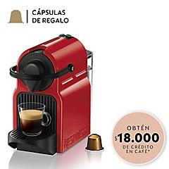 Cafetera Inissia roja