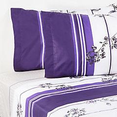 Sábana Lilac 144 hilos King