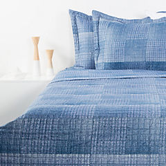 Quilt Stone Wash Azul King