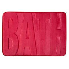 Piso baño Memory Rojo 43x61 cm