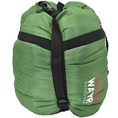 Saco de dormir -10+10 poliéster verde