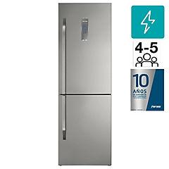 Refrigerador No Frost Bottom freezer 322 l silver