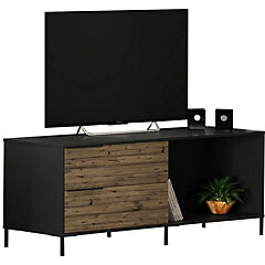 Set Rack de TV + Bar Pino/Negro