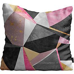 Cojín de Piso Geometric Pink de Suecia 100x100 cm