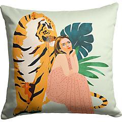 Cojín Tiger Spirit de India 40x40 cm