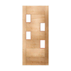 Puerta rosita madera lenga 200x60