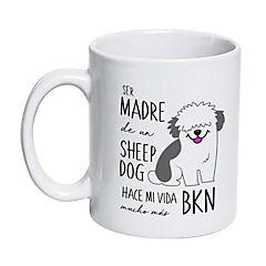 Tazón cerámico sheep dog