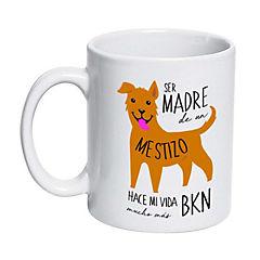 Tazón cerámico mestizo café