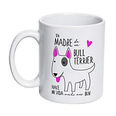 Tazón cerámico bull terrier