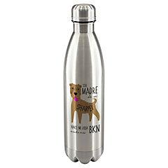 Termo botella sharpei café