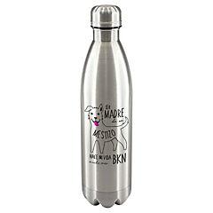 Termo botella mestizo blanco