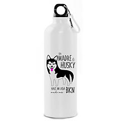 Botella husky negro