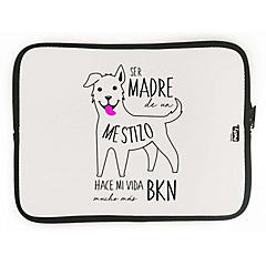 Funda ipad mestizo blanco