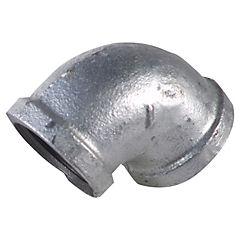 Codo BSP fierro galvanizado 1