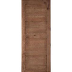 Pack puerta amadeuss 4 tableros cipres 200x80, 2 unidades