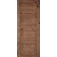 Pack puerta amadeuss 4 tableros cipres 200x85, 2 unidades