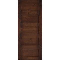 Pack puerta amadeuss 5 tableros alerce 200x85, 2 unidades